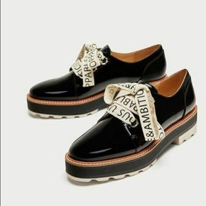 "Zara ""Unstoppable & Ambitious"" Brogues Oxfords"
